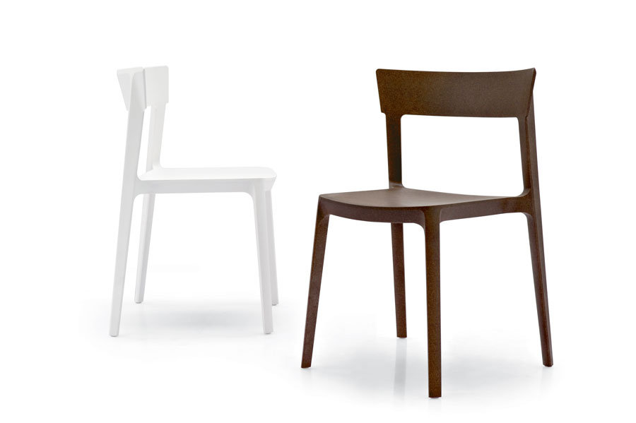 Chaises empilables Skin by Calligaris