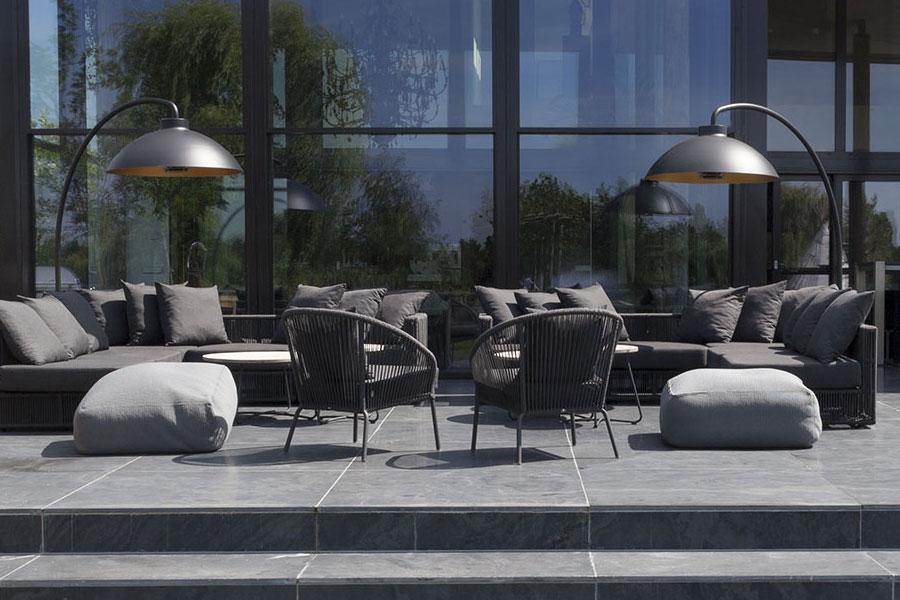 Luminaire d'extérieur avec chauffage intégré pour votre terrasse
