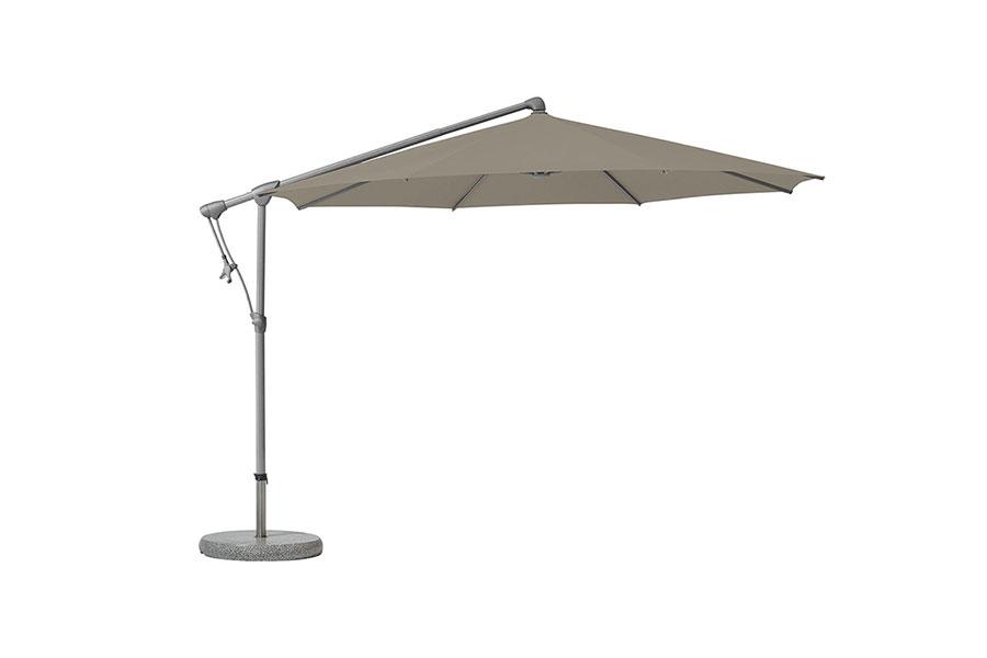 Parasol avec inclinaison de toit à 90°
