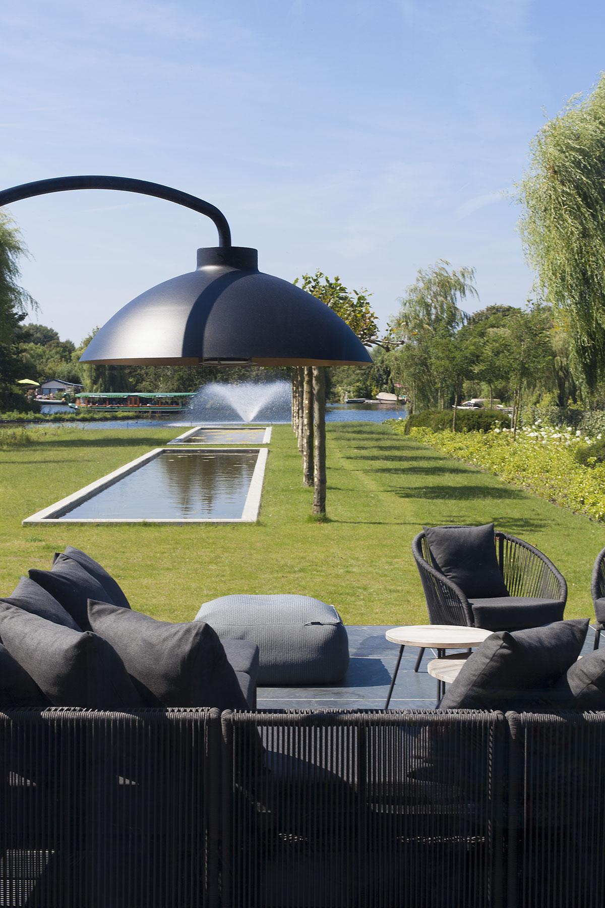 Eclairage design Dome par Heatsail