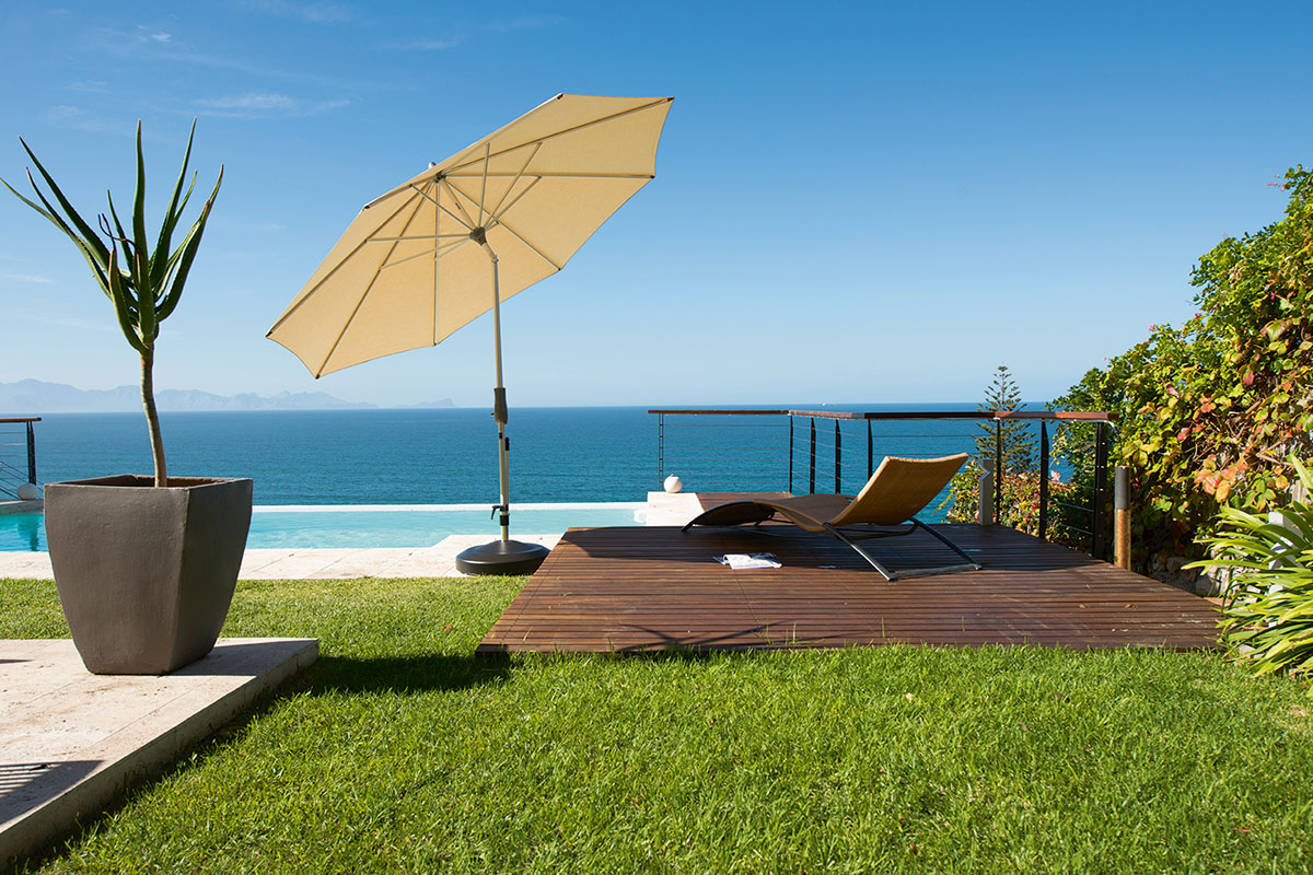 Parasol inclinable et design