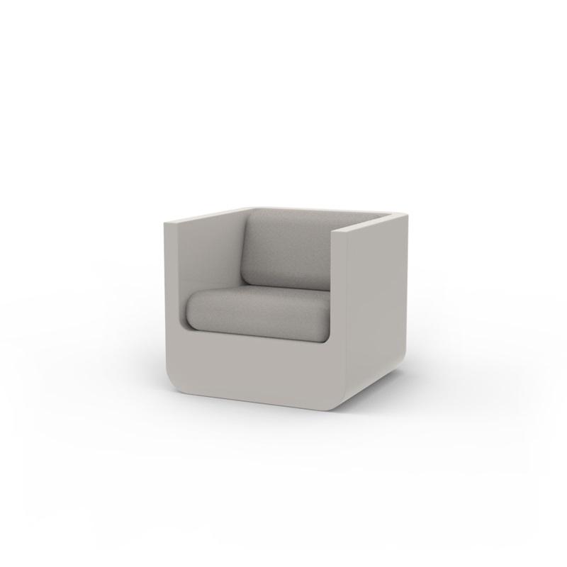 Fauteuil blanc design