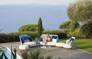 tendance 2017 mobilier de jardin modulable et fonctionnel couleur bleue. Black Bedroom Furniture Sets. Home Design Ideas